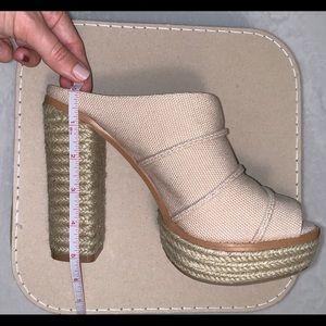 BCBGeneration Shoes - BCBGeneration Cecely espadrille platform sandal